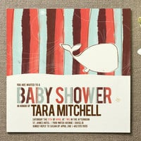 Whale Tale Baby Shower Invitations by Heidi at Minted.com