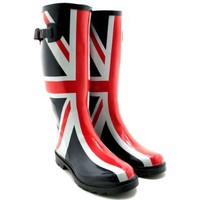 Rainy Day Apparel - Union Jack Wellies