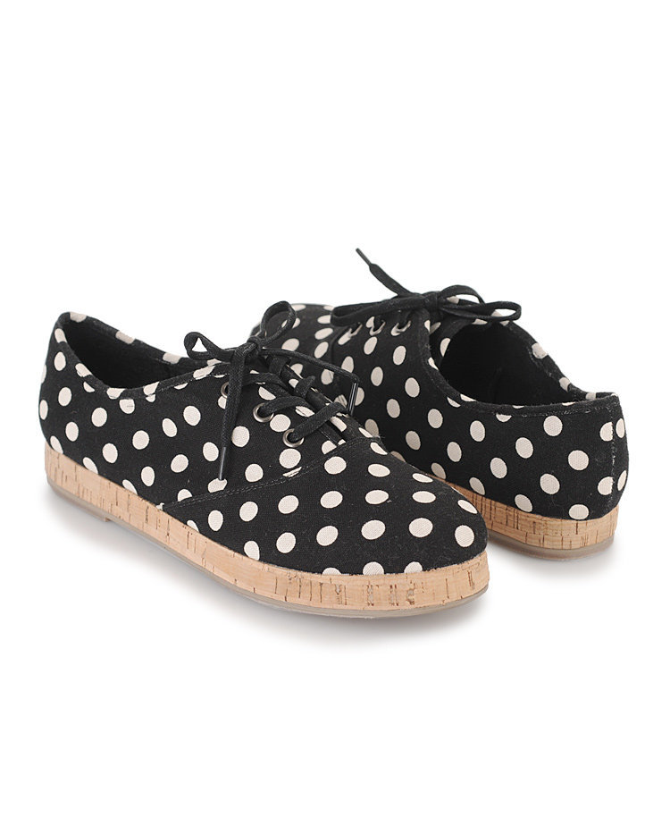 polka dot tennis shoes from forever 21