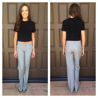 Overtime Bootcut Dress Slacks - GREY