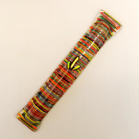 Fussed glass handmade  LONG Mezuzah mezuza by Dalit by dalitglass