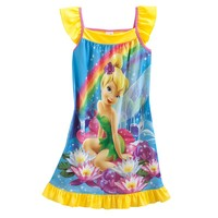 Disney Fairies Tinker Bell Rainbow Nightgown - Girls