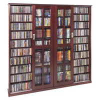 Multimedia Storage Cabinet - Dark Cherry : Target