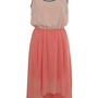Cool Coral Midi Dress - View All - New In - Miss Selfridge
