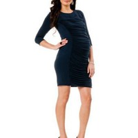 A Pea in the Pod: 3/4 Sleeve Maternity Dress