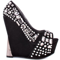 Promise's Black Lux - Black for 49.99 direct from heels.com