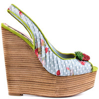 Cece Lamour's Multi-Color Christie - Blue Multi for 164.99 direct from heels.com