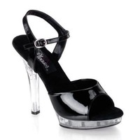 Pleaser Women's Lip-109 Sandal