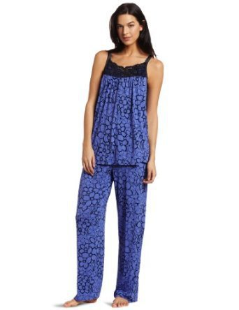 Midnight By Carole Hochman Women's Secret Garden Pajama