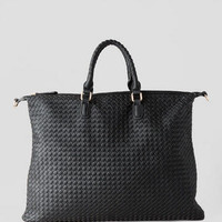KINGSTON WOVEN SATCHEL