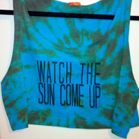 Watch The Sun Come Up by OfIvy on Etsy