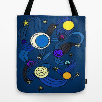 The Celestial Environment Tote Bag by DuckyB (Brandi)