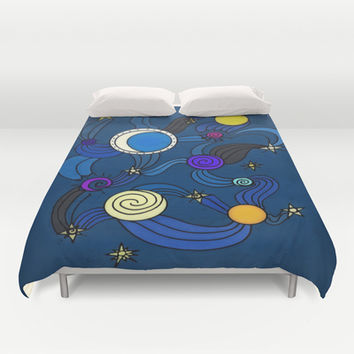The Celestial Environment Duvet Cover by DuckyB (Brandi)