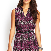 Abstract Brushstroke Romper