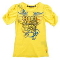 Coogi Big Girls White Multicolored Authentic & Cute Top