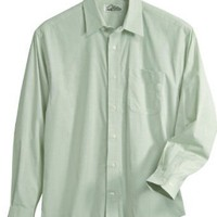 Tri-Mountain Men's Big And Tall Wrinkle Free Dress Shirt Glen Plaid Pattern. 724