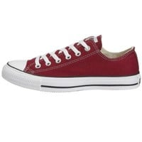 Converse Chuck Taylor All Star Lo Top Maroon men's 9/ women's 11
