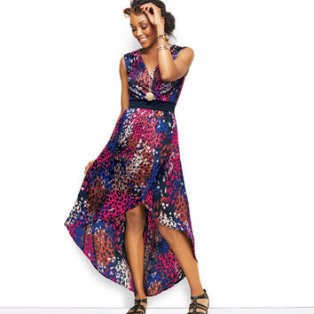 Avon: High-and-Low-Hem Dress