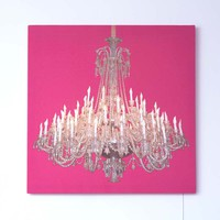 Grand Chandelier pink - Duffy London