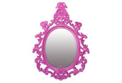 One Kings Lane - Steven Shell - Hudson Mirror, Hot Pink