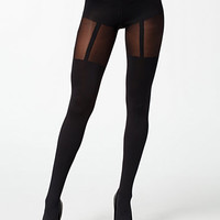 FASHION SUSPENDER TIGHTS
