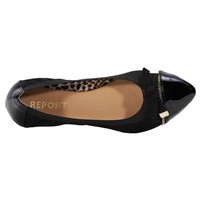 REPORT Bronson Point Toe Flat with Bow at Von Maur