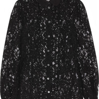 Dolce & Gabbana | Cotton-blend lace blouse | NET-A-PORTER.COM