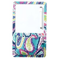 Gear-Up Pool Paisley Locker Dry-Erase Pocket