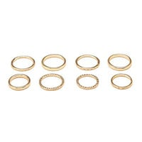 Midi Stacking Ring Set