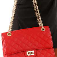 Speed It Up Purse: Red