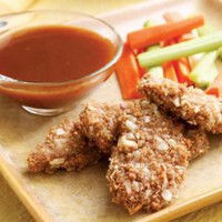 Almond-Crusted Pork with Honey-Mustard Dipping Sauce | Eating Well