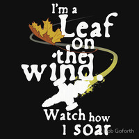 Leaf on the wind (dark shirt variant) T-Shirts & Hoodies