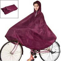 Como Women Men Dark Red Cycling Bicycle Bike Raincoat Rain Cape