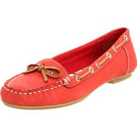 AK Anne Klein Women`s Dewy Loafer,Red,8.5 M US
