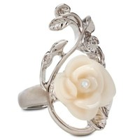 Rose Snow White Ring | Jewelry | Women | Disney Store