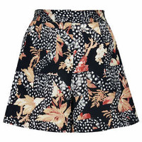TOILE STAR AND LEAF PRINT CULOTTES