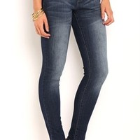 High Waisted Jegging with 3 Button Waistband