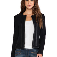 BB Dakota Maile Moto Jacket in Black