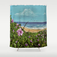 Montauk Shower Curtain by gretzky