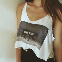 DAFNE BLACK THE END CAT TANK
