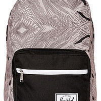 The Pop Quiz Backpack in Geo and Black