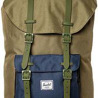 The Little America Backpack in Army and Navy