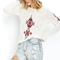 Southwestern Patterned Sweater