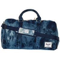 The Novel Duffle Bag in Denim Acid Wash