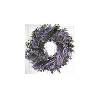 Purple Haze Eucalyptus Wreath - 24 in