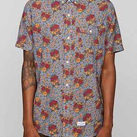 CPO Kennett Printed Breezy Button-Down Shirt - Urban Outfitters