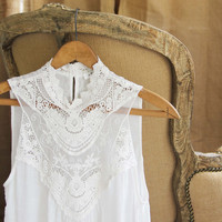 Lace Gypsy Top