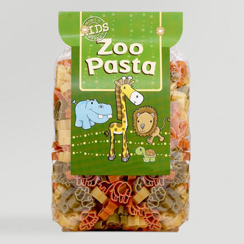 World Market Kids' Zoo Pasta, Set of 2