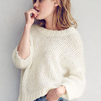 Boxy Crewneck Sweater - Victoria's Secret