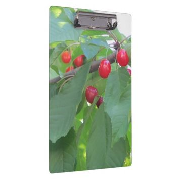 Cherries Clipboard